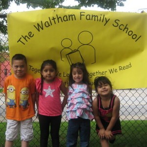 Together We Learn, Together We Read, Together We Succeed is the motto of Waltham Family School.